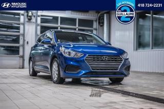 Used 2019 Hyundai Accent Preferred chez Rimouski Hyundai for sale in Rimouski, QC
