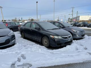Used 2009 Honda Civic 4dr Auto DX-G,A/C,VITRES+PORTES ELEC for sale in Mirabel, QC