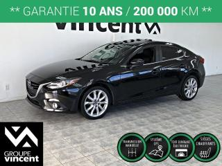 Used 2015 Mazda MAZDA3 GT ** GARANTIE 10 ANS ** Sportive et raffinée! for sale in Shawinigan, QC