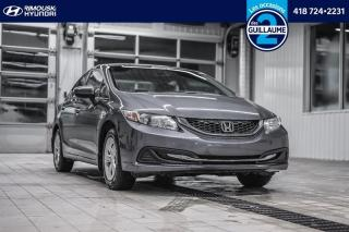 Used 2014 Honda Civic LX chez Rimouski Hyundai for sale in Rimouski, QC