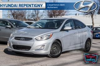 Used 2015 Hyundai Accent 4dr Sdn Auto SE SIEGES ET MIRROIRS CHAUFFANT BLUTO for sale in Repentigny, QC