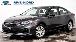 Used 2019 Subaru Impreza Convenience BLUETOOTH+CAM.RECUL+APPLE.CARPLAY for sale in Boisbriand, QC