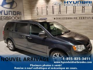 Used 2014 Dodge Grand Caravan AIR CLIM 7 PLACES CRUISE GRP ÉLECTRIQUE for sale in Sherbrooke, QC