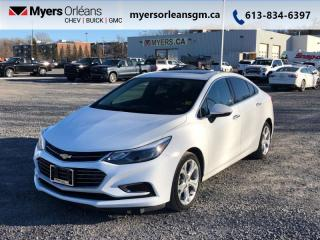 Used 2017 Chevrolet Cruze Premier for sale in Orleans, ON