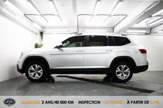 Used 2019 Volkswagen Atlas Trendline 3.6 FSI 4MOTION + 7 Pass + HID-LED for sale in Québec, QC