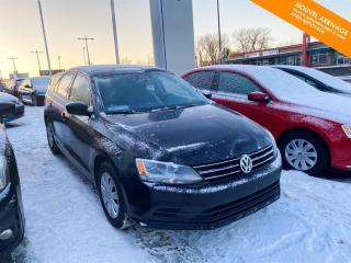 Used 2017 Volkswagen Jetta Man. Trendline Base 1.4 TSI + Caméra + Bluetooth for sale in Québec, QC