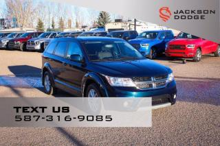 Used 2013 Dodge Journey SXT - Remote Start, Rear View Camera for sale in Medicine Hat, AB