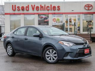 Used 2015 Toyota Corolla LE |YES WE ARE OPEN | HEATED SEATS | LOW KMS for sale in North York, ON