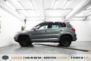 Used 2017 Volkswagen Tiguan 4MOTION 4Highline R-Line + HID-LED + Keyless for sale in Québec, QC