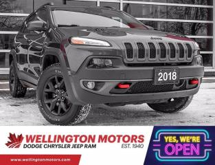 Used 2018 Jeep Cherokee Trailhawk Leather Plus --> 4x4 !! for sale in Guelph, ON