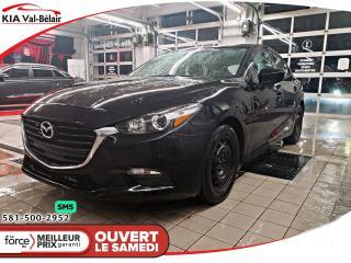 Used 2018 Mazda MAZDA3 Sport *SPORT*GX*CAMÉRA*RÉGULATEUR DE VITESSE* for sale in Québec, QC