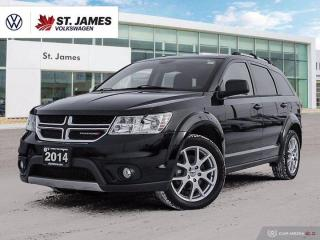 Used 2014 Dodge Journey Limited, Push to Start, Heated Seats and Steering Wheel for sale in Winnipeg, MB