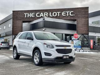 Used 2016 Chevrolet Equinox LS Backup Camera! Bluetooth! Eco Mode! Fold Down Rear Seats! for sale in Sudbury, ON