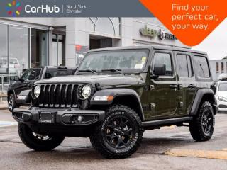 New 2021 Jeep Wrangler Unlimited New Willys 4x4 Alpine Sound Dual Top Cold & Tech Grps for sale in Thornhill, ON