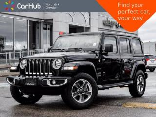 Used 2020 Jeep Wrangler Unlimited Sahara 4x4 Heated Seats & Wheel ALPINE Sound for sale in Thornhill, ON
