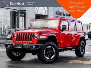Used 2020 Jeep Wrangler Unlimited Rubicon 4x4 Sky Roof Heated Seats & Wheel for sale in Thornhill, ON