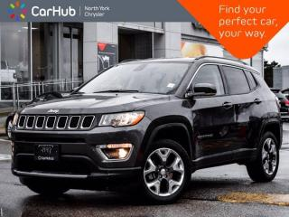 Used 2020 Jeep Compass Limited 4x4 Heated Seats & Wheel Backup Camera Bluetooth for sale in Thornhill, ON