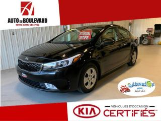 Used 2017 Kia Forte LX+ AUTO TOUT EQUIPE PRET HIVER for sale in Notre-Dame-des-Pins, QC