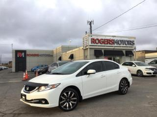 Used 2014 Honda Civic TOURING - NAVI - SUNROOF - LEATHER for sale in Oakville, ON
