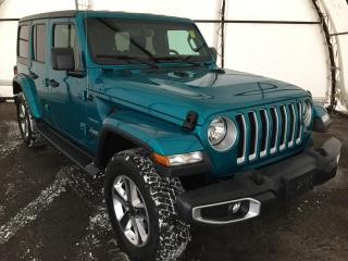 Used 2020 Jeep Wrangler Unlimited Sahara COLD WEATHER GROUP, NAVIGATION, ALPINE AUDIO for sale in Ottawa, ON