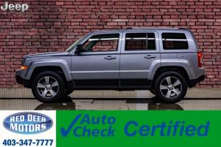 Used 2017 Jeep Patriot 4x4 High Altitude Leather Roof for sale in Red Deer, AB