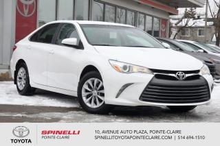 Used 2016 Toyota Camry LE CAMÉRA DE RECUL, BLUETOOTH for sale in Pointe-Claire, QC