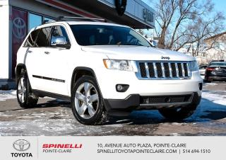 Used 2012 Jeep Grand Cherokee ***RÉSERVÉ***OVERLAND 8 PNEUS for sale in Pointe-Claire, QC