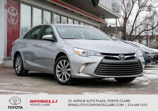 Used 2017 Toyota Camry XLE BAS KM! CUIR, GPS, MAGS for sale in Pointe-Claire, QC