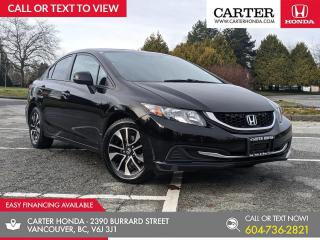 Used 2013 Honda Civic EX SUNROOF + HEATED SEATS + BLUETOOTH for sale in Vancouver, BC