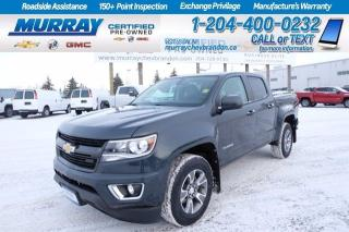 Used 2018 Chevrolet Colorado *Heated Seats* Remote Start*Tonneau*Tow Pkg*Backup for sale in Brandon, MB