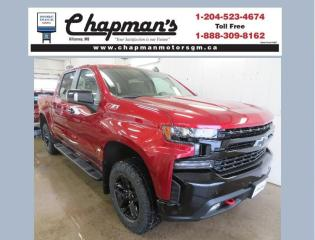 New 2021 Chevrolet Silverado 1500 LT Trail Boss Remote Start, Heated Seats, Heated Steering Wheel for sale in Killarney, MB