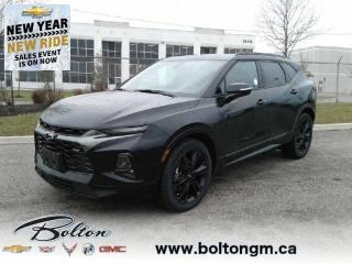 New 2021 Chevrolet Blazer RS - Sunroof - Leather Seats for sale in Bolton, ON
