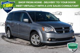 Used 2017 Dodge Grand Caravan Crew DVD PACKAGE!! BACK-UP CAMERA! for sale in Barrie, ON