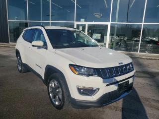 Used 2020 Jeep Compass Limited 1 OWNER, Remote Start, Heated Seats & Wheel for sale in Ingersoll, ON