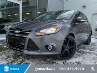 Used 2012 Ford Focus TITANIUM - NAV SUNROOF HEATED SEATS AND MUCH MORE! for sale in Edmonton, AB