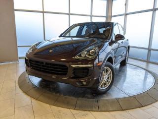 Used 2018 Porsche Cayenne Platinum   CPO   Ext. Warranty   360 Cameras for sale in Edmonton, AB