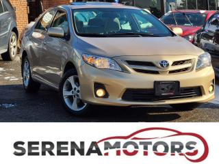Used 2012 Toyota Corolla LE | AUTO | SUNROOF | HTD SEATS | BLUETO. | LOW KM for sale in Mississauga, ON