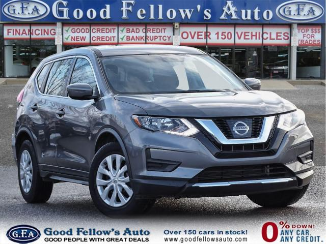 2017 Nissan Rogue S MODEL, REARVIEW CAMERA, HEATED SEATS, 2.5L 4CYL