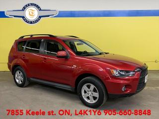 Used 2011 Mitsubishi Outlander ES 4WD, Leather, Sunroof for sale in Vaughan, ON