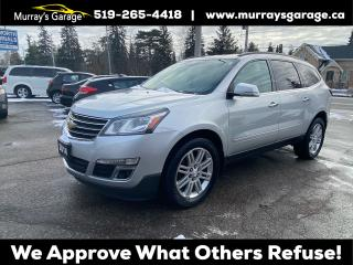 Used 2014 Chevrolet Traverse 1LT for sale in Guelph, ON
