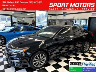 Used 2019 Kia Optima LX+Apple Play+Camera+Heated Seats+ACCIDENT FREE for sale in London, ON