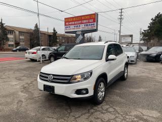 Used 2014 Volkswagen Tiguan Trendline for sale in Toronto, ON
