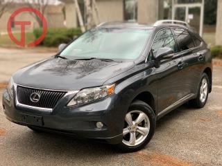 Used 2010 Lexus RX 350 NO ACCIDENTS-BACKUP CAM-AWD for sale in Burlington, ON