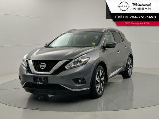 Used 2018 Nissan Murano Platinum AWD | Leather | Panoramic Moonroof | Heated/Cooling Seats | No Accidents for sale in Winnipeg, MB
