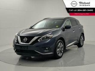 Used 2018 Nissan Murano SV AWD | Heated Seats and Steering Wheel | Remote Start | Panoramic Sunroof for sale in Winnipeg, MB