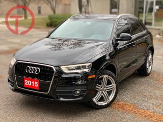 Used 2015 Audi Q3 Progressiv for sale in Burlington, ON