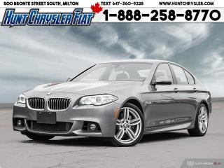 Used 2016 BMW 5 Series 535i xDrive | AWD | LEATHER | NAV | SUN & MORE!!! for sale in Milton, ON