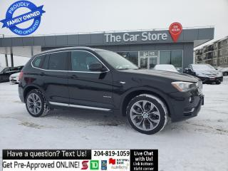 Used 2017 BMW X3 HAR/KARDON NAVI Prem Enhanced Heads Up Disp Blind for sale in Winnipeg, MB