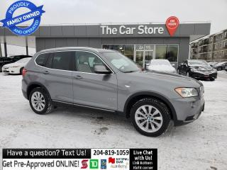 Used 2013 BMW X3 AWD 35i NAVI PanaRoof Push Start Rear Cam Mint! for sale in Winnipeg, MB