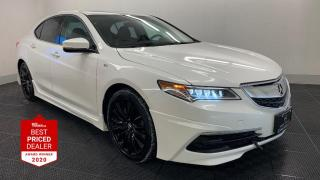 Used 2017 Acura TLX SH-AWD V6 TECH A-SPEC *NAVIGATION - ACURALINK* for sale in Winnipeg, MB